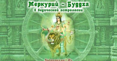 Буддха - Меркурий в ведической астрологии