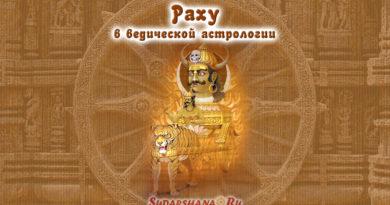 Раху в ведической астрологии