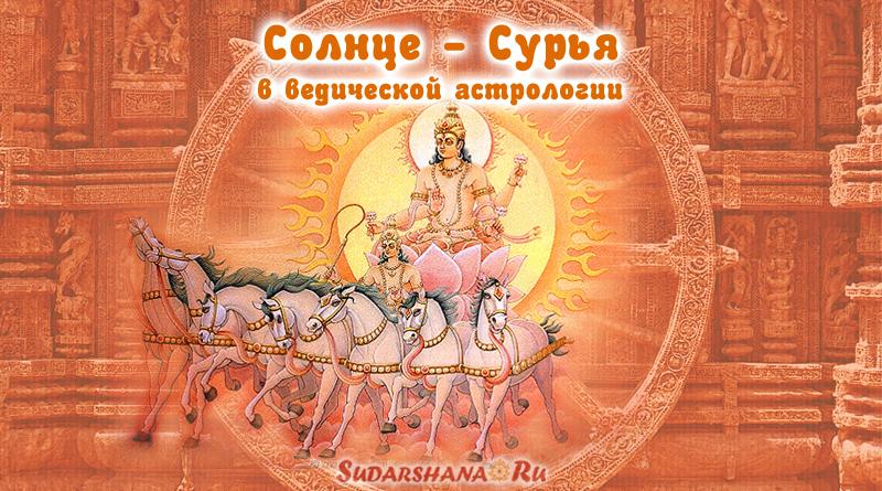 Сурья - Солнце в Джйотиш