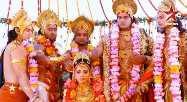 Махабхарата - Свайамвара Драупади