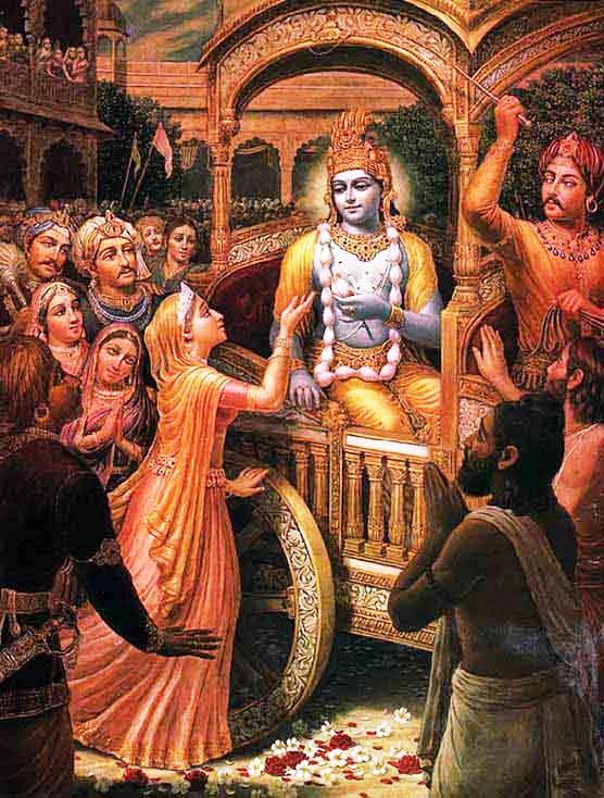 Махабхарата - Молитвы царицы Кунти