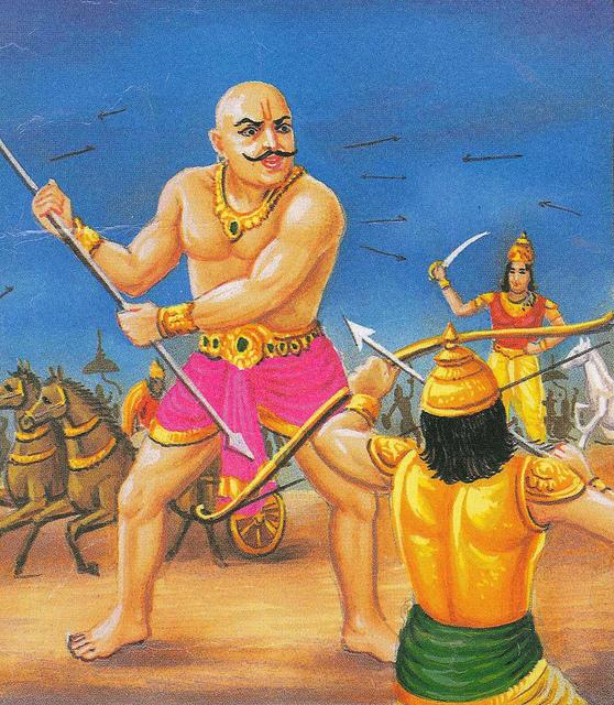 Махабхарата - Гхатоткача на Курукшетре