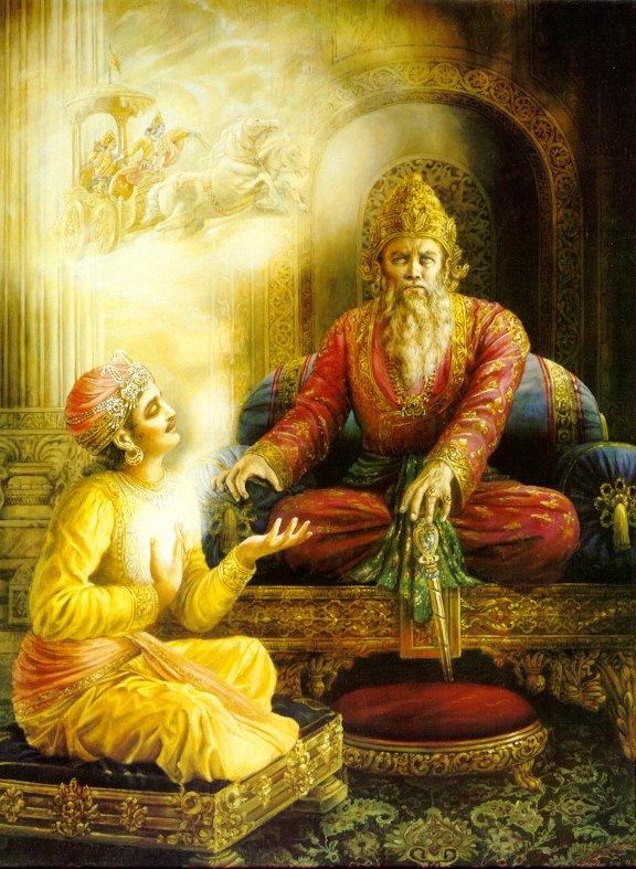 Махабхарата - Дхритараштра и Санджая