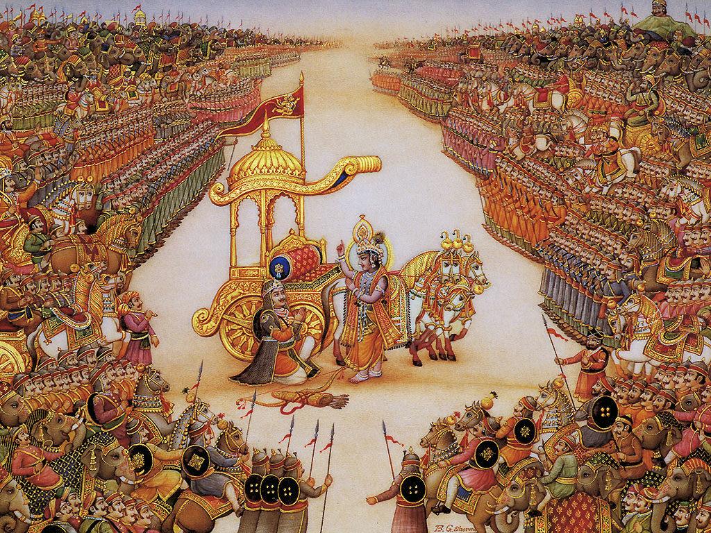 Махабхарата - Армии на Курукшетре