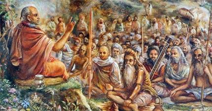 Сута Госвами рассказывает Махабхарату