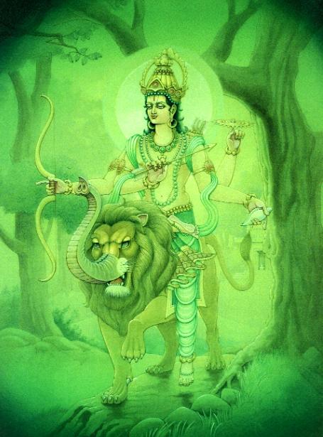 Меркурий (Буддха) - управитель знака Девы в ведической астрологии