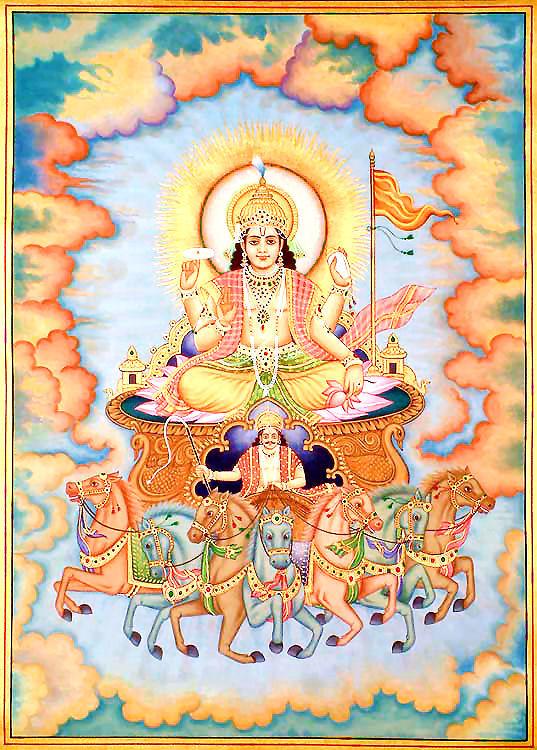 Сурья - бог Солнца