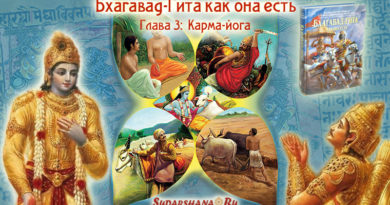 Бхагавад-Гита - глава 03 - Карма-йога