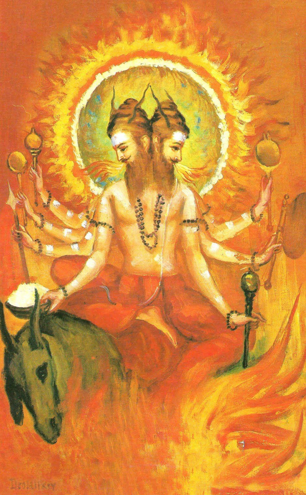 Агнидева - Бог Огня