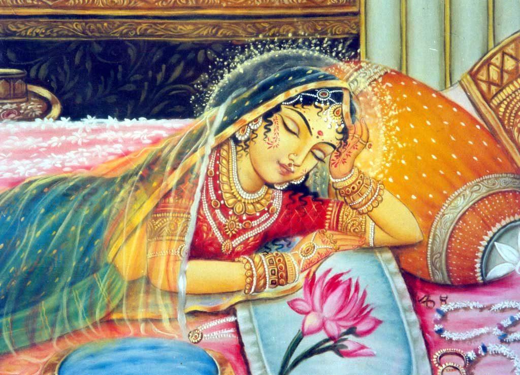 Шримати Радхарани - высшее Божество Анурадхи