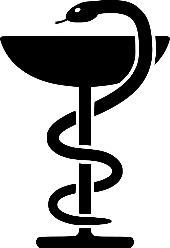 змея обвившая чашу - символ медицины - Ашлеша