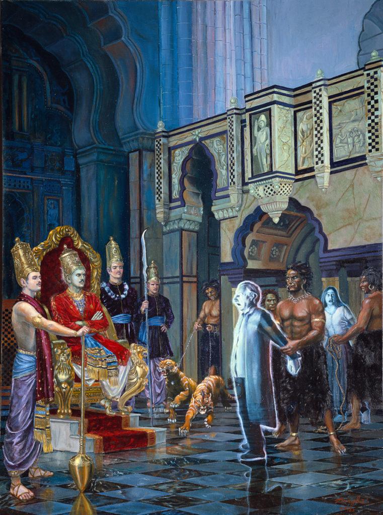 Махабхарата - Ямарадж - бог смерти