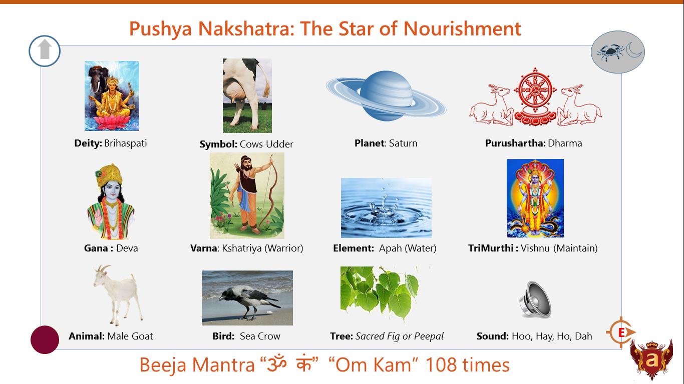 08 - Pushya Nakshatra