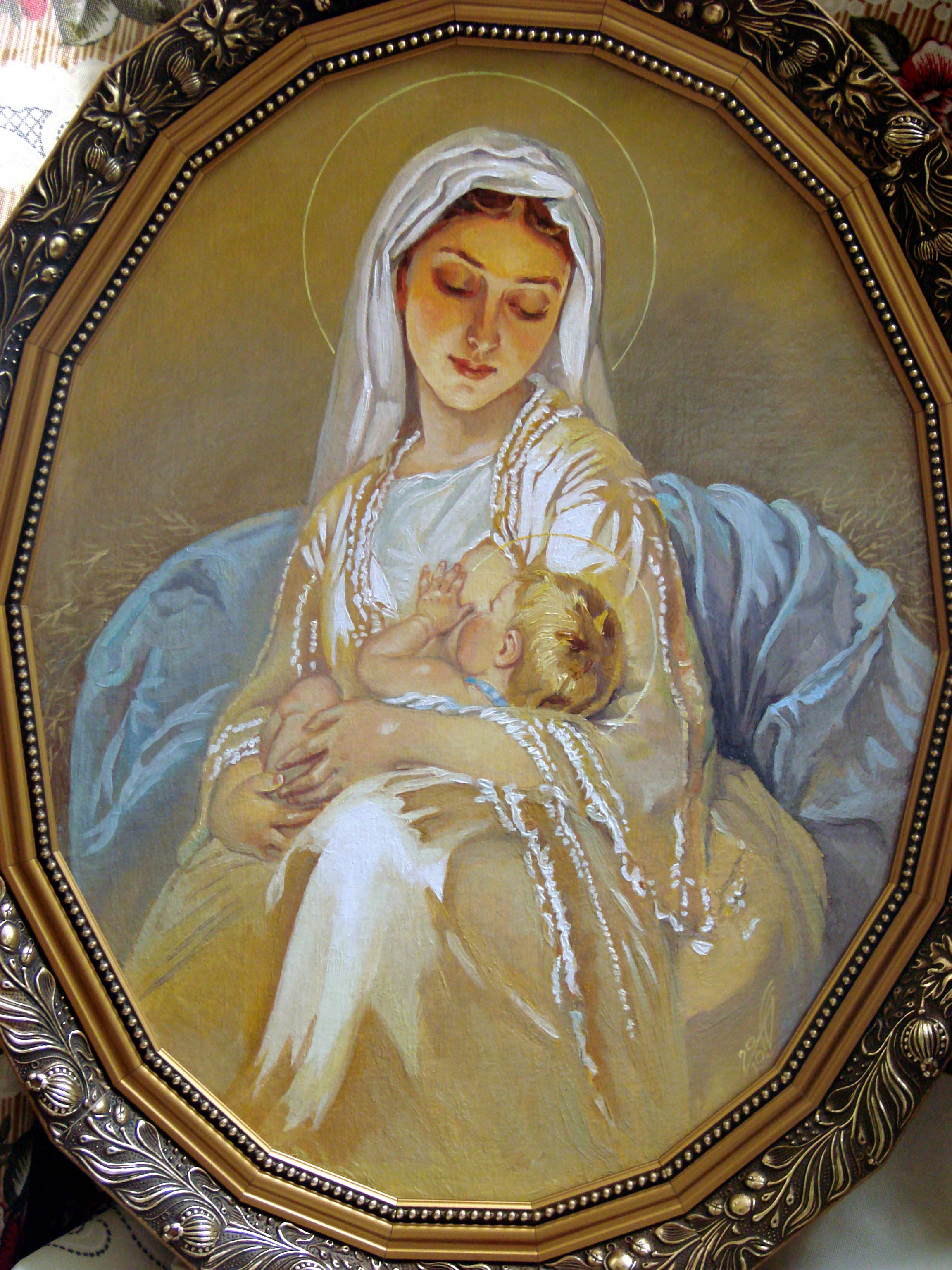 Кормящая мать - символ Пушьи