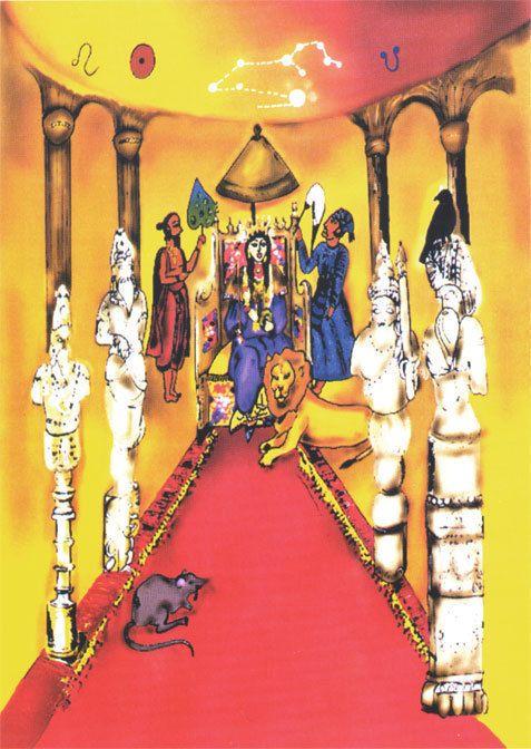 magha  - тронный зал