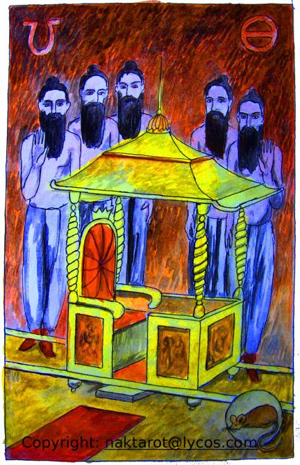 Предки - символ накшатры Магха