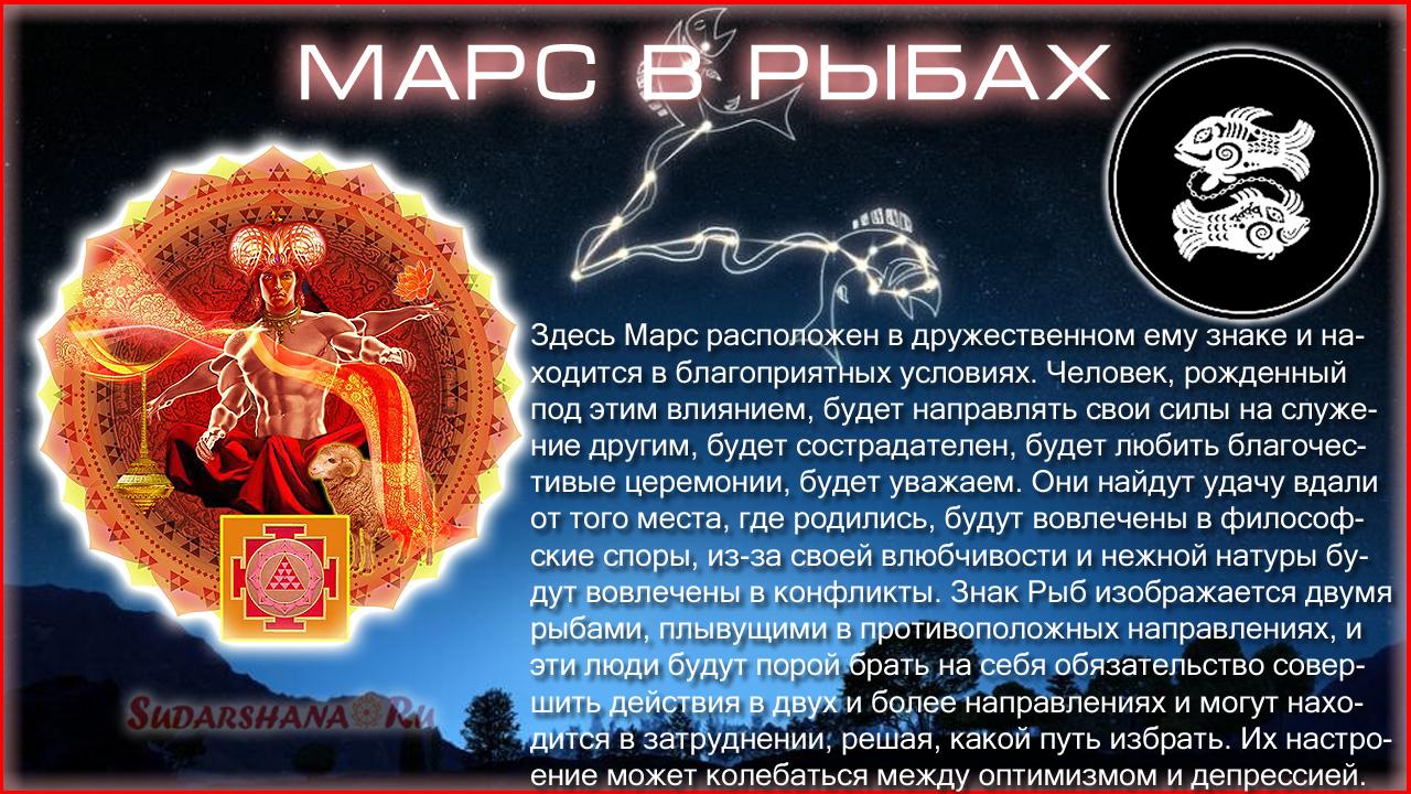 Марс в Рыбах