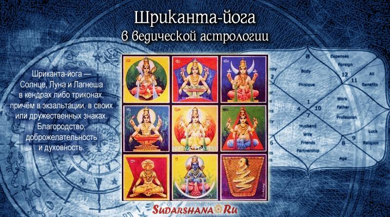 Шриканта-йога в ведической астрологии