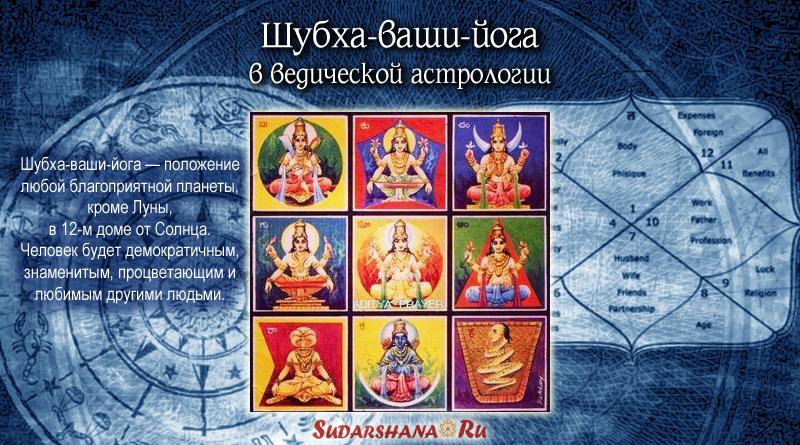 Шубха-ваши-йога в ведической астрологии