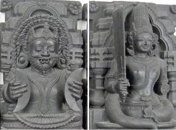 Раху и Кету - божества