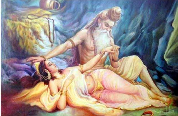 Махабхарата - Сатьявати и мудрец Парашара