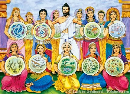 Махабхарата - Тринадцать жен Кашьяпы Муни