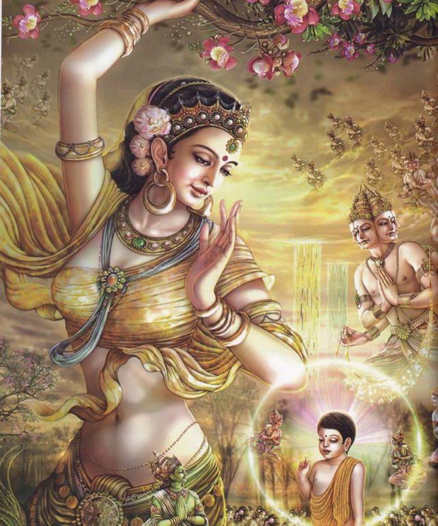 Махабхарата - Адити - мать 12-ти главных полубогов