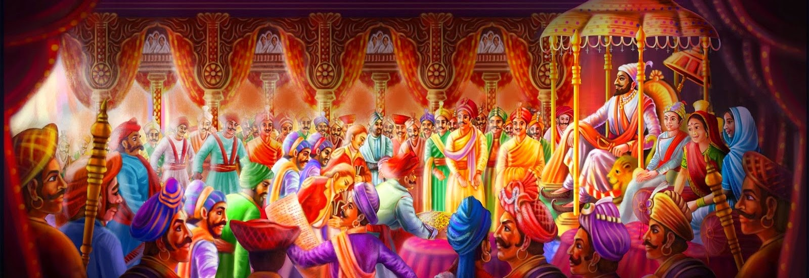 Махабхарата - Ведические цари