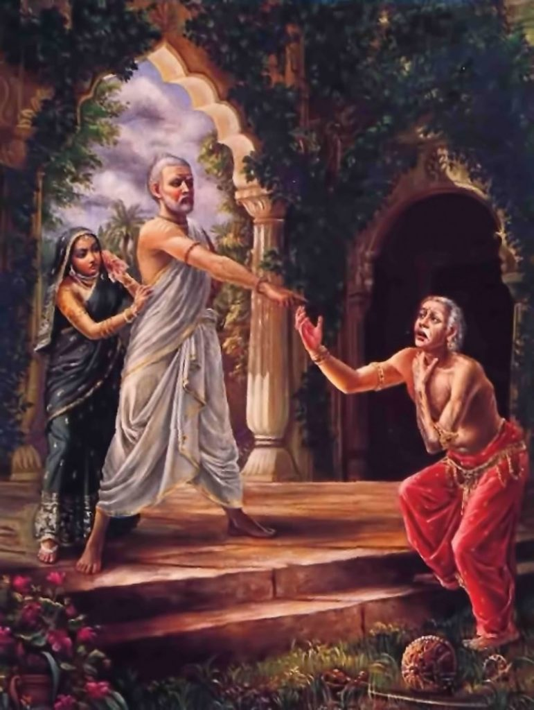 Махабхарата-125 - Шукрачарья проклинает царя Яяти