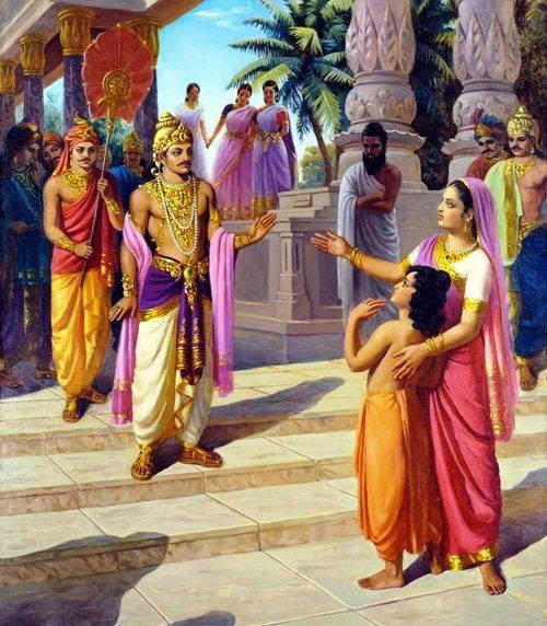 Махабхарата - Бхарата, Шакунтала и Душьянта