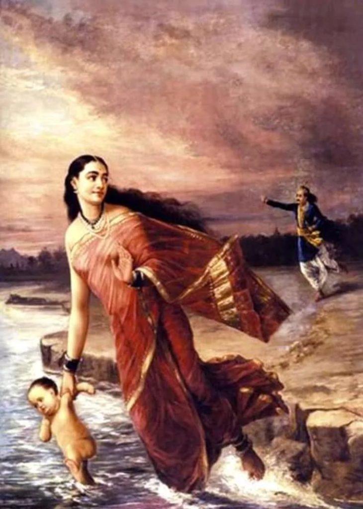 Махабхарата - Ганга и Шантану