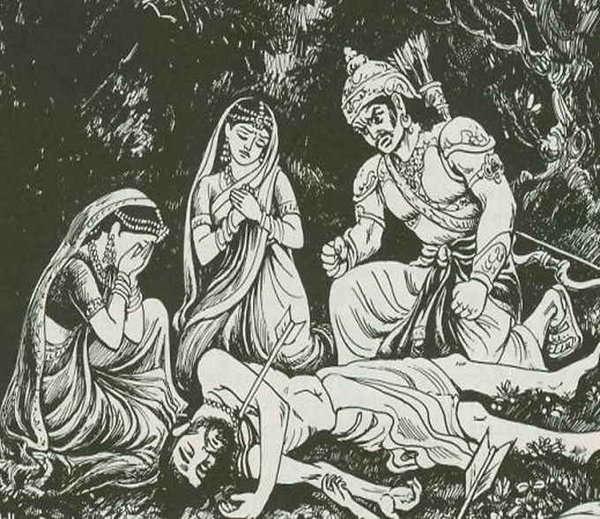 Махабхарата - Махараджа Панду случайно убивает мудреца