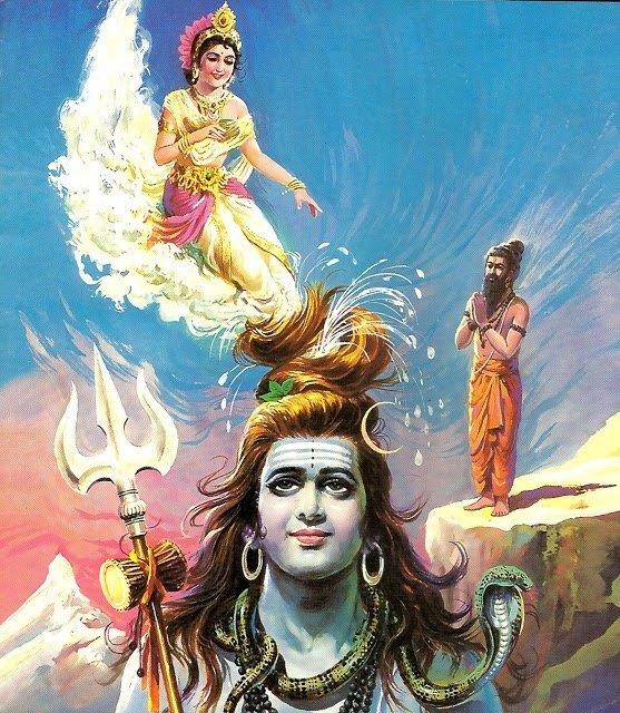 Махабхарата - Небесная Ганга