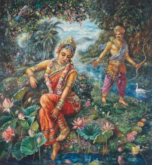 Махабхарата - Ганга и Махараджа Шантану