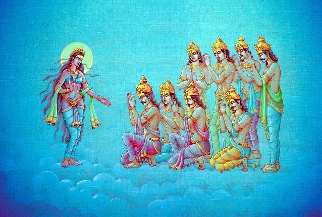 Махабхарата - Ганга и восемь Васу