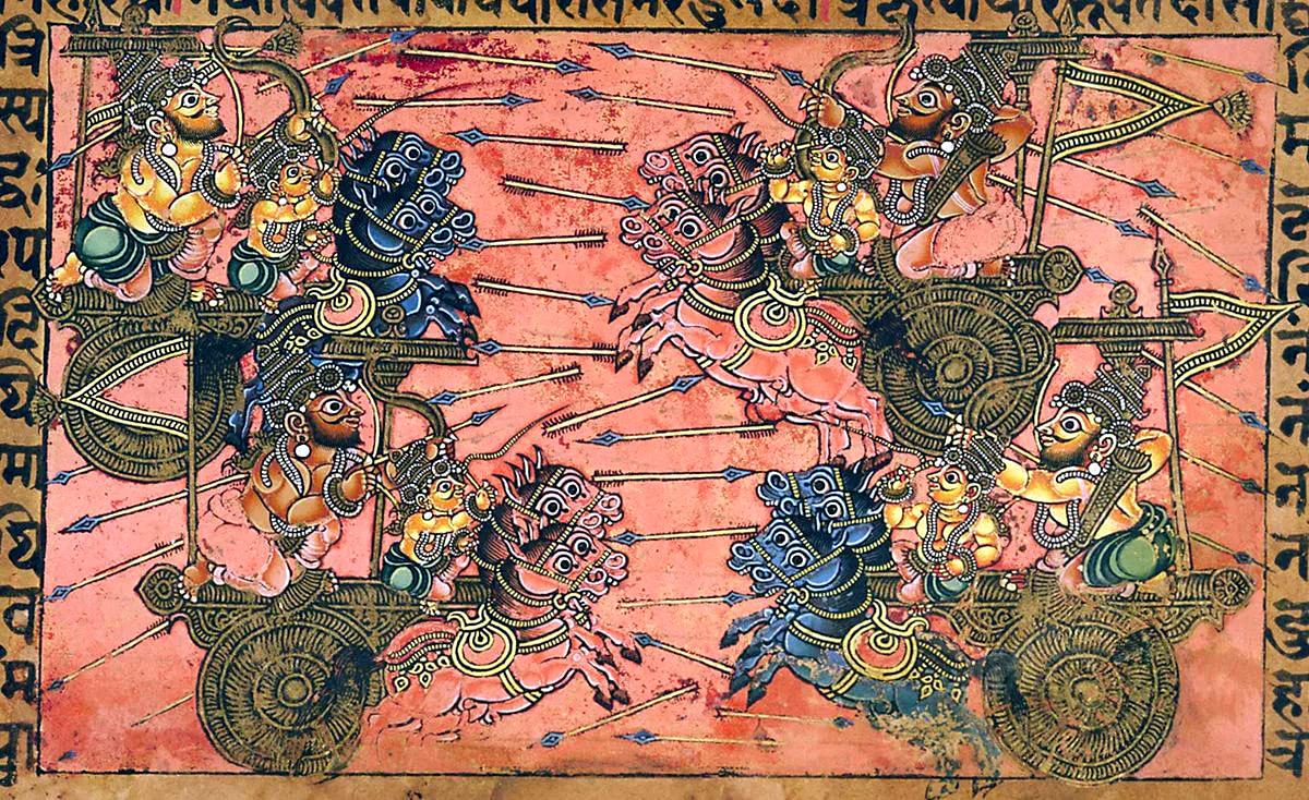 Махабхарата - Битва кшатриев
