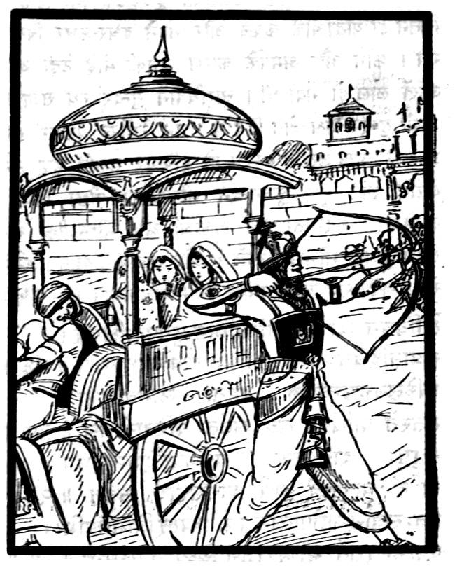 Махабхарата - Бхишма похищает трех принцесс со сваямвары