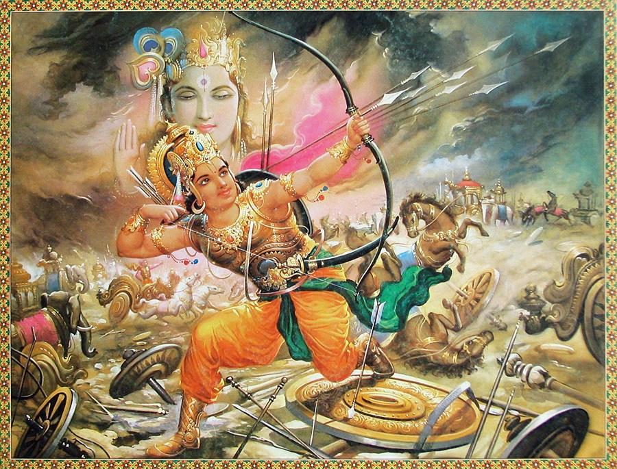 Махабхарата - великий воин Абхиманью