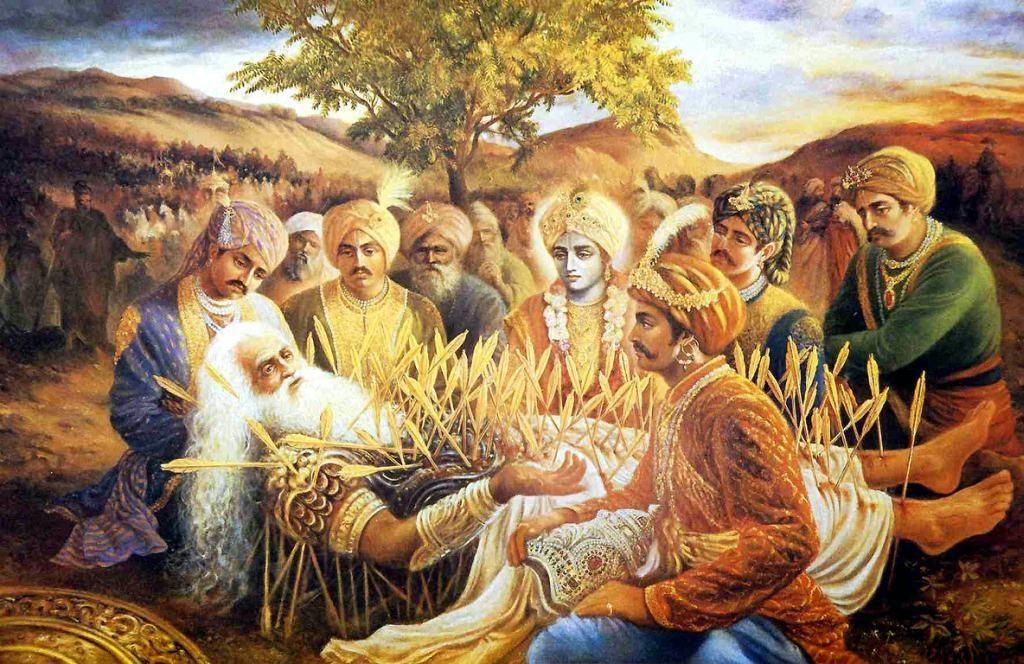 Махабхарата - Бхишмадева дает наставления перед уходом