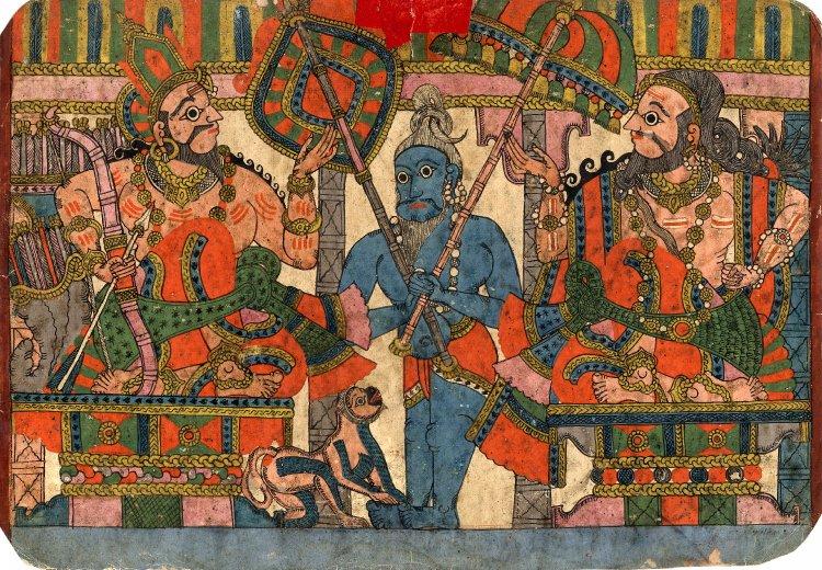 Махабхарата - Джанамеджая и Вьясадева