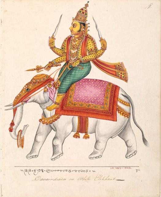 Махабхарата - Индра помогает Уттанке