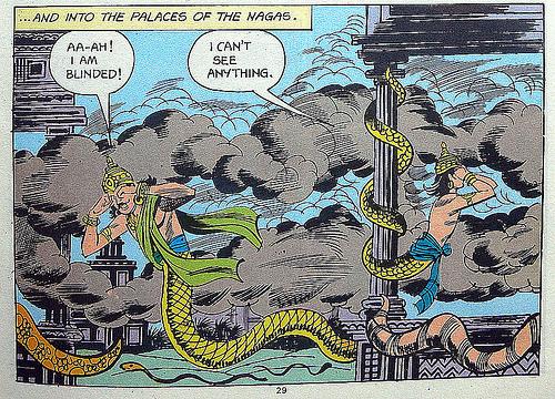 Махабхарата-046 - Наги в змеином царстве
