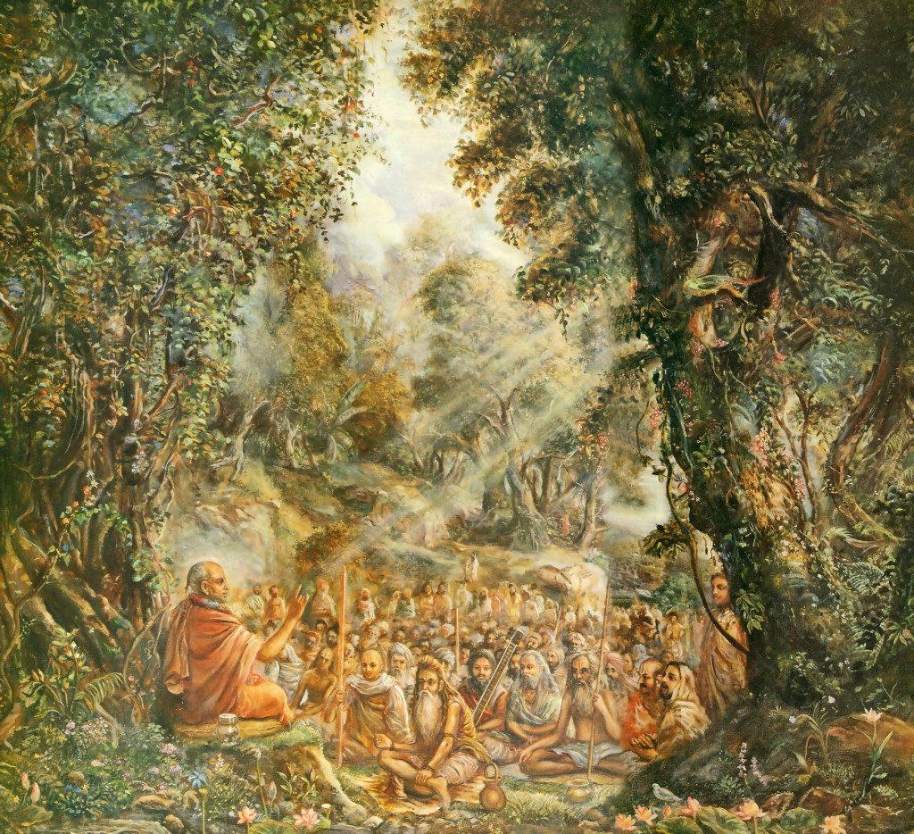 Махабхарата - Сута Госвами и мудрецы Наимишараньи