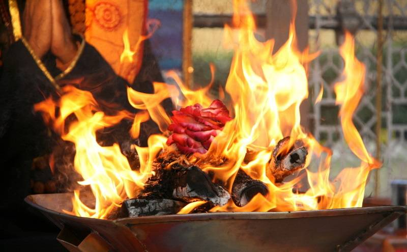 Махабхарата - История Анги и Бхригу,огненная ягья
