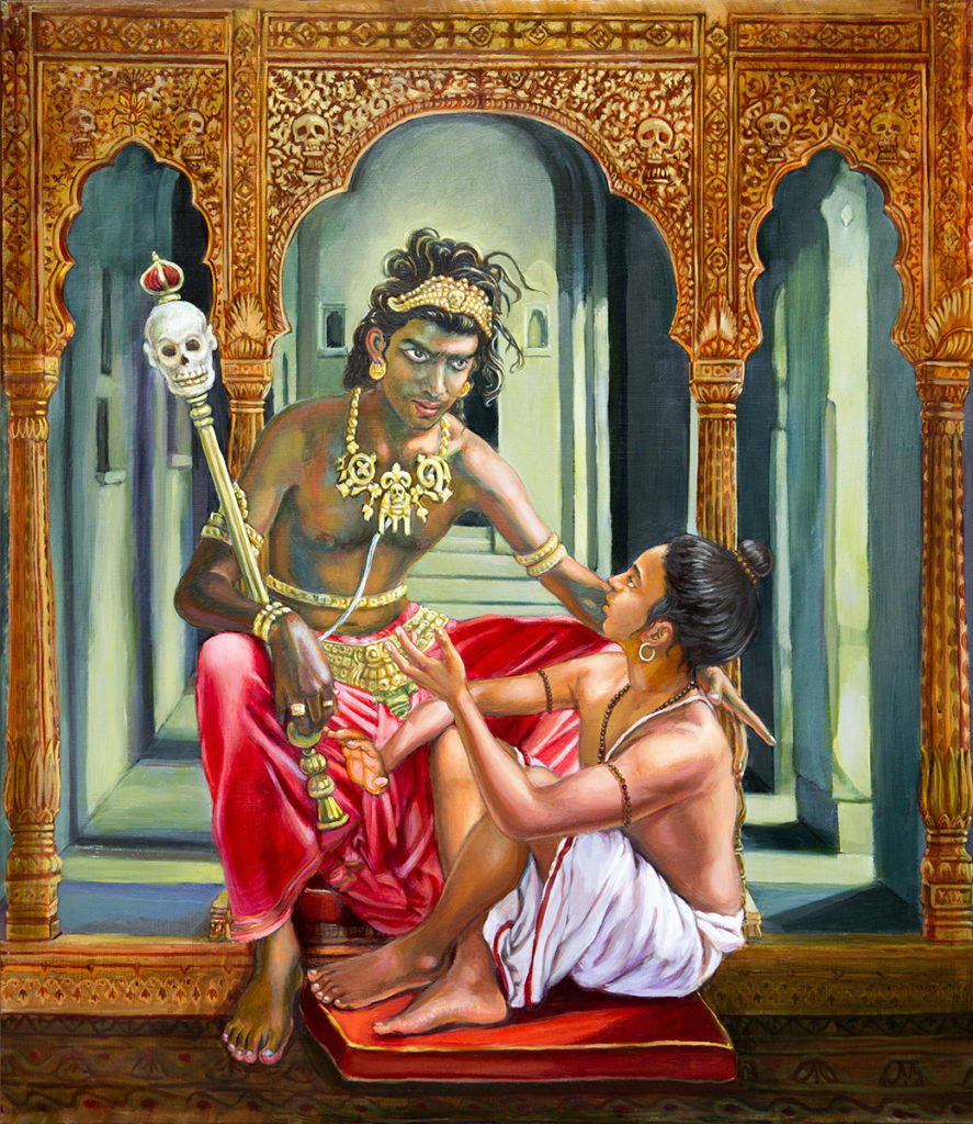 Махабхарата - Руру отдает полжизни за воскрешение Парамдвары