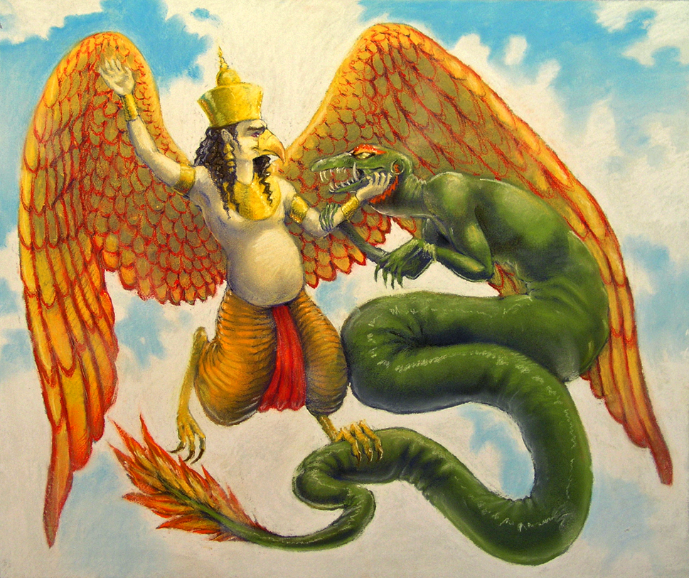 Махабхарата - Рождение Гаруды