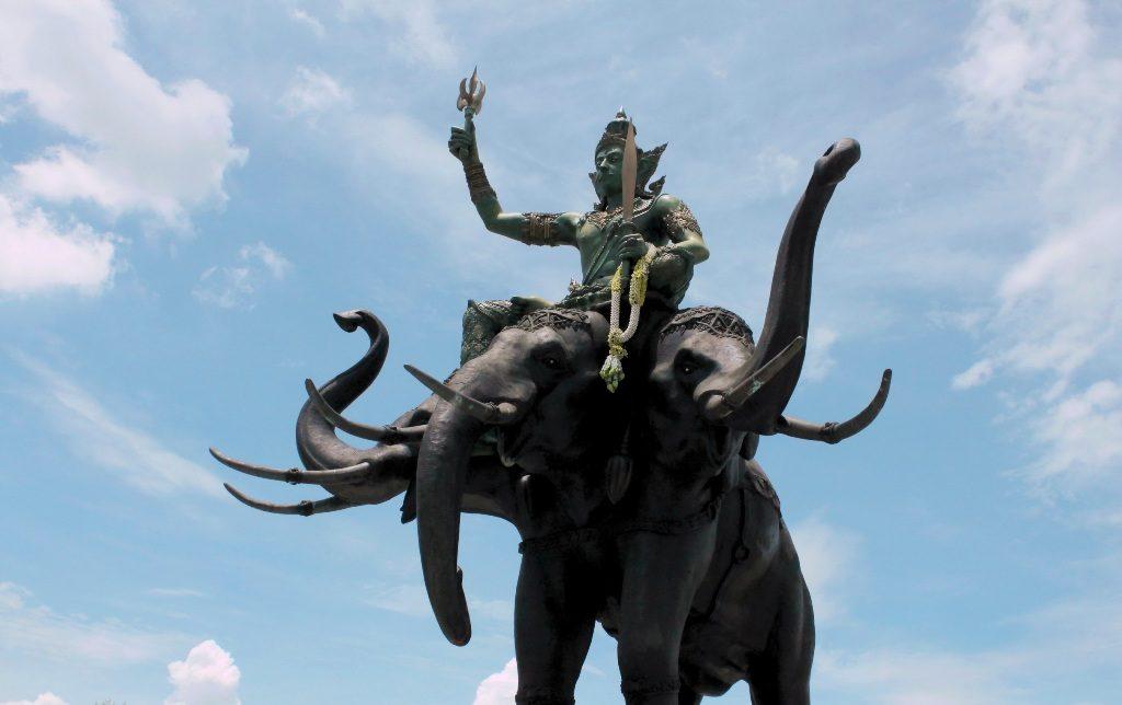 Махабхарата - Господь Индра на слоне Айравате