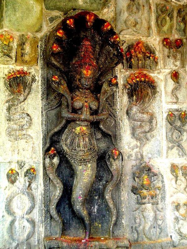Махабхарата - Нагини (змея)