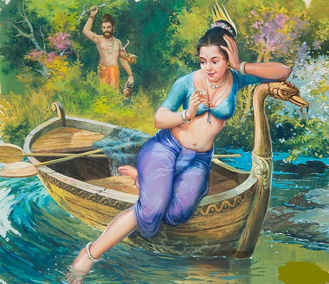 Махабхарата - Мудрец Парашара и Сатьявати