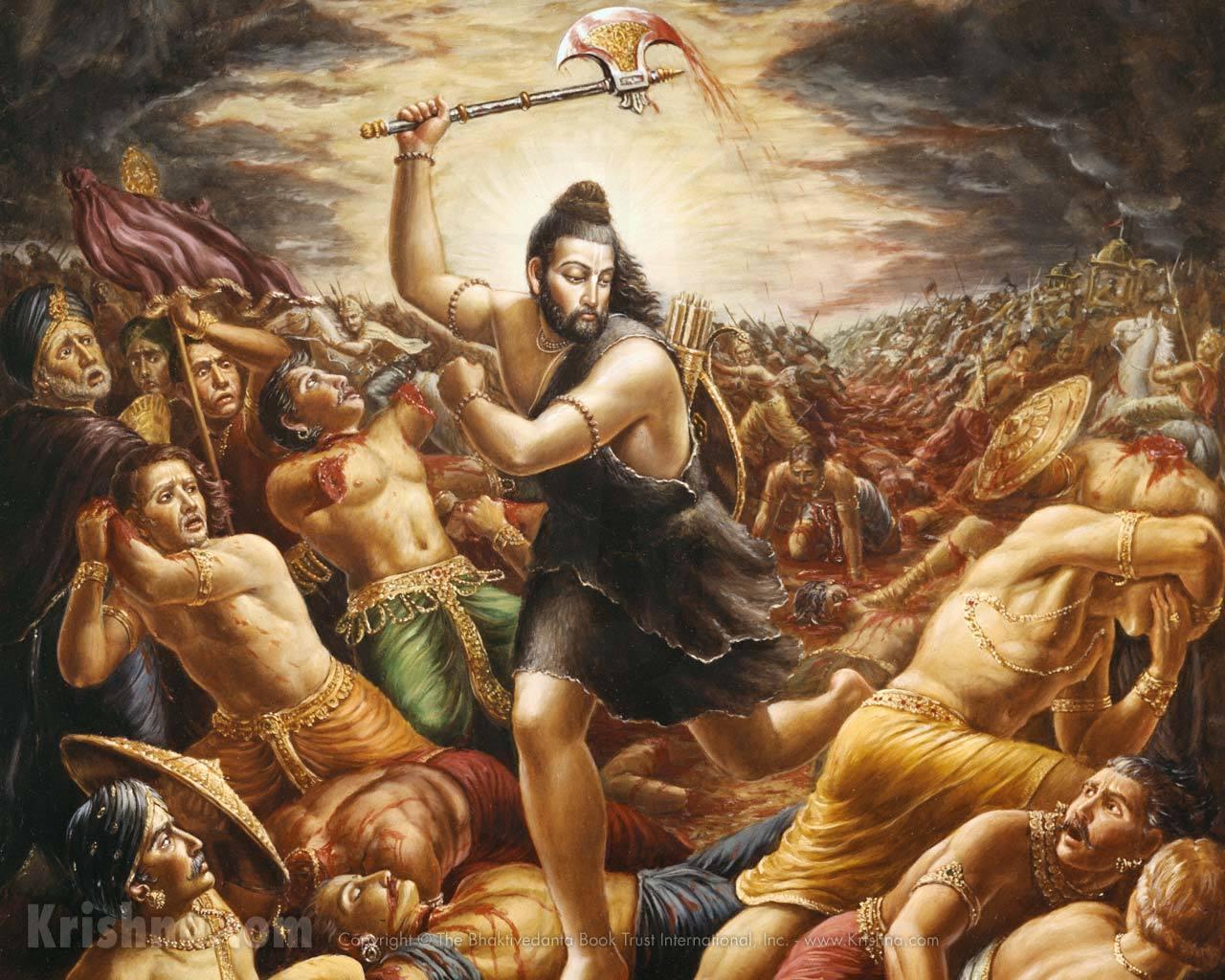 Махабхарата - Господь Парашурама уничтожает кшатриев